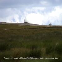 One of 5 UK based NATO \'ACE HIGH\' communication programme sites